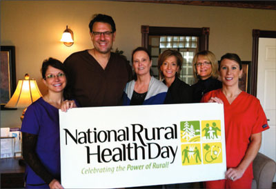 Celebrating National Rural Health Day at Goose River Dental Associates in Mayville, ND