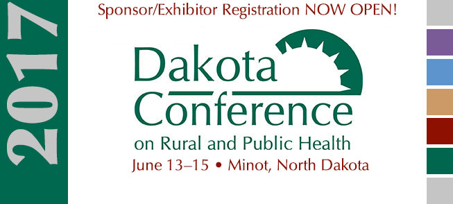 Dakota Conference on Rural & Public Health Sponsor/Exhibitor Registration Now Open